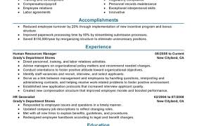 Recruiting Resume Fitness Manager Resume