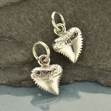 a1756 sv chrm tiny sterling silver shark tooth charm
