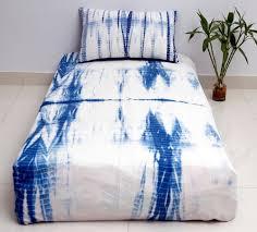 tie dye bedspread with 1 pillow case