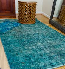 pretty inspirational recent projects over dyed rugs and oriental