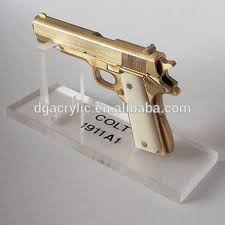 Handgun Display Stand Clear Desktop Display Stand Acrylic Gun Display Case Buy Acrylic 30