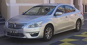 Nissan Altima Comparison Chart Nissan Altima Wikipedia