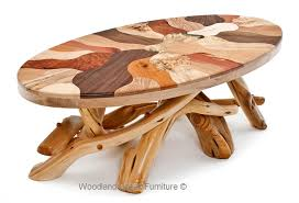 Mosaic Cabin Coffee Table