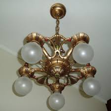 s vintage gold art deco cast iron metal ceiling light fixture pictures on captivating antique gold