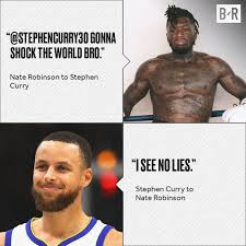 You're the only one i see making this argument tho. Bleacher Report Stephen Curry S Reaction To Nate Robinson Getting Knocked Out Facebook