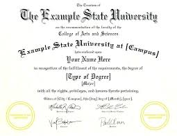 fake bachelor degree degree certificates fake university degrees college diplomas example