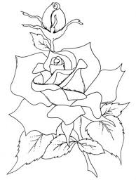 Small Picture Flower Coloring Pages Roses Flower Coloring pages of
