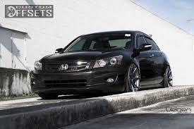 honda accord 2008 custom. Fine Custom 1 2008 Accord Honda Dropped 3 Velgen Wheels Vmb8 Black Gunmetal  Hellaflush  Intended Custom P