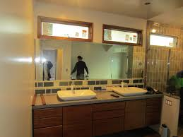 mirror with lighting. beveled mirror light fixture cutouts with lighting
