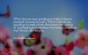 Best Of Touching Farewell Quotes For Friends Paulcong
