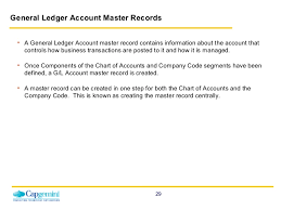 the general ledger of a business sap fico general ledger enduser training www sapdocs info