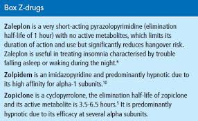Z Hypnotics Versus Benzodiazepines For The Treatment Of