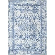 nuloom vintage odell light blue runner 2 ft 8 in x 8 ft rug