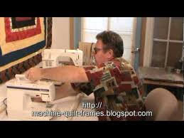 Utilizes your own sewing machine for an affordable version of a ... & Utilizes your own sewing machine for an affordable version of a long arm  machine quilting setup Adamdwight.com