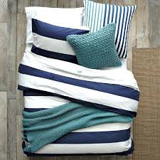 navy and white striped bedding blue duvet covers pillow quilt
