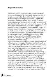 punishment essay conclusion capital punishment essay conclusion