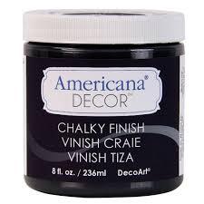 Small Picture DecoArt Americana Decor 8 oz Carbon Chalky Finish ADC29 95 The