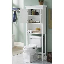 WYNDENHALL Hayes White Bathroom Space Saver Cabinet - Free Shipping Today -  Overstock.com - 17759916