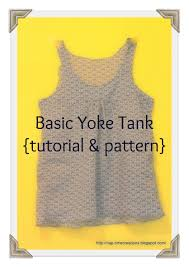 Tank Top Pattern Delectable Free Tank Top Pattern Life Sew Savory