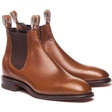 tan bark rm williams dynamic flex with kangaroo leather