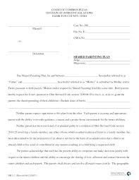 examples of custody agreements example of child custody agreement example of child custody