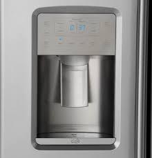 Counter Depth Refrigerator Only Ge Czs22mskss 36 Inch Counter Depth Side By Side Refrigerator With