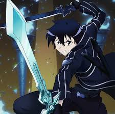 female anime characters with swords.  Characters Sword Art Online Kirito Anime Swords And Female Anime Characters With Swords P