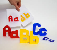 the letters here are three dimensional and can stand by themselves the designs are more challenging