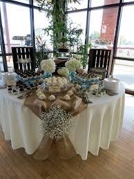 rustic wedding round table decorations imgkidcom