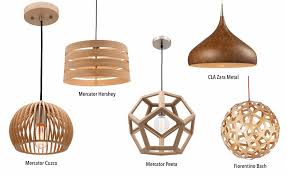 timber pendant lights