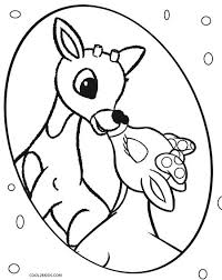 Small Picture Printable Rudolph Coloring Pages For Kids Cool2bKids