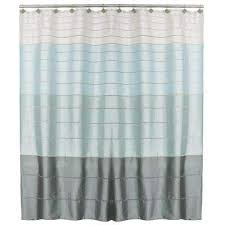 modena stripe 72 in polyester shower curtain