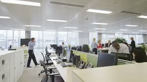 group contemporary office. 4k / Ultra HD Version Attractive Diverse Business Group Working Together In Large Modern City Office Contemporary N