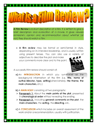 How To Write A Movie Review How To Write A Movie Review Sample