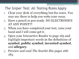 the sniper by liam o flaherty ppt video online 15 the sniper test all testing
