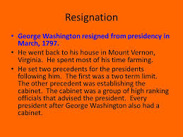 Image result for jorge washington retired from public life in 1797