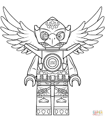 Small Picture Lego Chima Eagle Eris coloring page Free Printable Coloring Pages