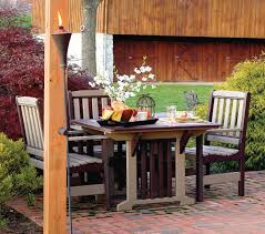 pid Amish Polywood Patio Furniture Dining Set 110