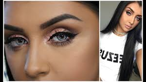 make up tutorial for blue eyes
