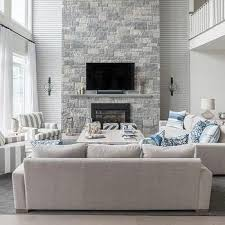 blue and gray living room cottage living room lynn morgan design living room decorating ideas grey
