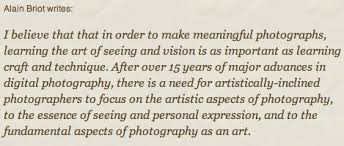 alain briot fine art photography quote from my essay creating meaningful photographs
