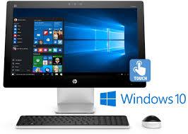 hp pavilion 23 q112 23 2 2ghz amd a8 windows 10 touchscreen desktop pc hp23q112 rb focus