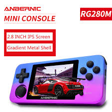 PS1 ANBERNIC <b>RG350M RETRO GAMES Aluminum</b> shell VIDEO ...