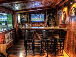 Simple Rustic Man Cave Bar Image Of Cool Ideas Inside Decorating