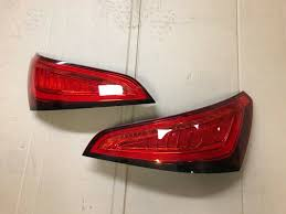 Audi Q5 Rear Lights 2012 2017 Genuine Audi Q5 Sq5 Led Rear Tail Lights Complete Facelift Eu Postage