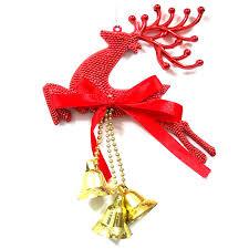 Large Plastic Christmas Bell Decorations Fascinating Plastic Christmas Tree Hanging Bells Jingle Pendant Party Decoration
