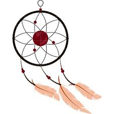 How To Make A Simple Dream Catcher Simple clipart dream catcher Pencil and in color simple clipart 74
