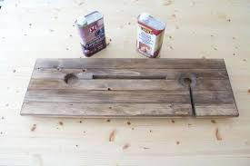 wooden bath caddy stained tray bathtub ikea