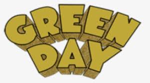 pegatina green day shock man green