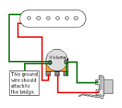 totalrojo guitars wiring 'how to' for cigar box guitars Guitar Wiring Diagrams 1 Pickup (this example shows how proper grounding can eliminate a 'ground loop) guitar wiring diagrams 1 pickup no volume